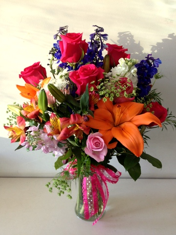 Valentine spring Mix Arrangement