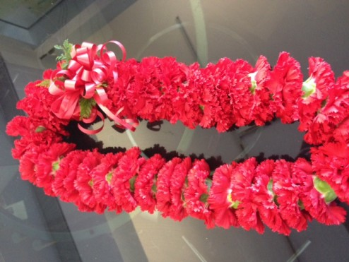 Fancy Carnation Lei